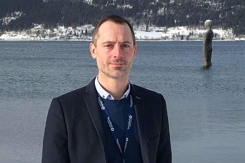 Tor Magne Aanonli (41) blir ny banksjef i SpareBank 1 Nord-Norge sin virksomhet i Mo i Rana.