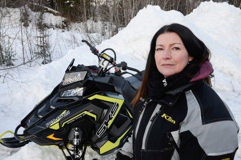 Hilde Elvebakk, leder i Rana Snøscooterforening, er veldig fornøyd med vedtaket i MPR-utvalget.