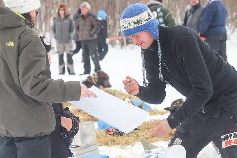 Joar Leifseth Ulsom har startet Iditarod på en mesterlig måte.
