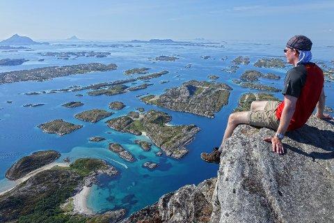 Turstien opp til Rødøyløva er en av 16 Nasjonale turstier som har fått statlige midler for å ivareta sikkeheten.