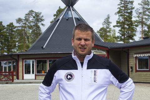 Klar: Magnus Furberg ble i fjor ny campingsjef ved Ansia Resort, som er en av bare fem campingplasser i hele Sverige med fem stjerner. Foto: Isabel Haugjord
