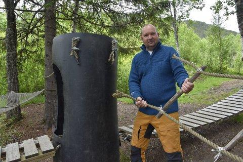 Leder i Tusenbein barnehage, Tommy Ellingsen. Bildet tatt i annen sammenheng. Arkivfoto: Viktor Leeds Høgseth