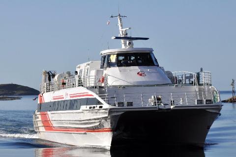 Boreal skal kjøre hurtigbåtene mellom Sandnessjøen og Bodø.