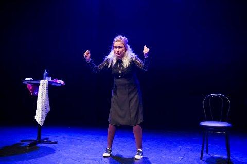 Kjører eget show: Trine Lise Olsen lager noe helt eget til Skjærgårsdagan. Her under Vinterlys 2016.