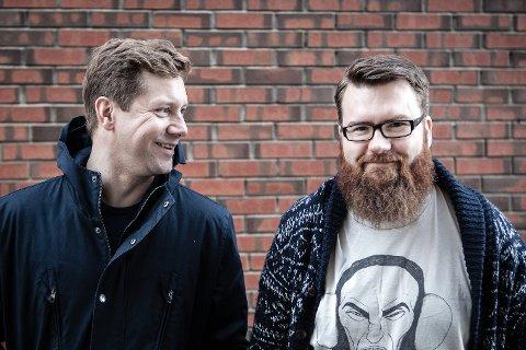 Dj Bråk: Konsertarrangørene, nå også Dj´s,  Bjørn Immonen og Kenneth Johan Gabrielsen.