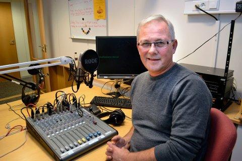 Redaktør i Radio Rana, Oddvar Brennesvik, er en av kontaktpersonene i kanalen ved behov for bred distribusjon av krisenyheter.