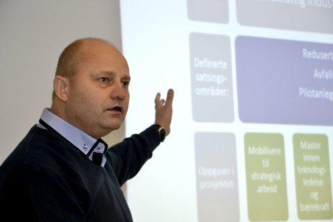 Administrerende direktør i Mo Industripark og styreleder i NHO Nordland, Arve Ulriksen. Arkivfoto: Beate Nygård