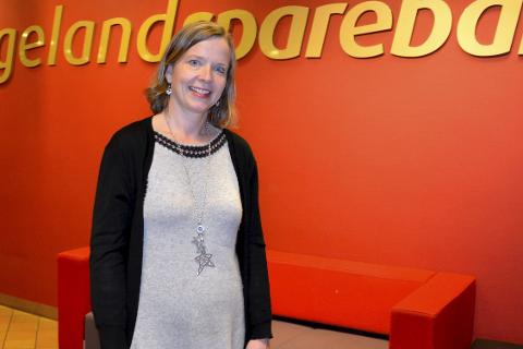 Hanne Nordgaard, administrerende direktør i Helgeland Sparebank.