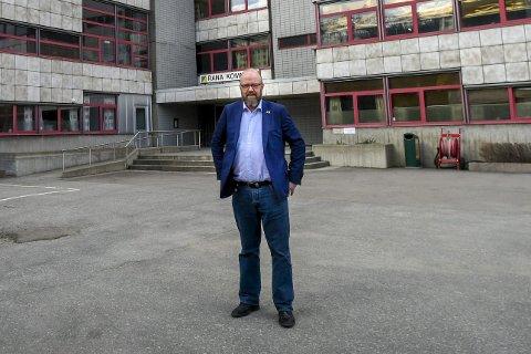 Ordfører Geir Waage sier seg fornøyd med at Rana klatrer i kommune-NM. Foto: Øyvind Bratt