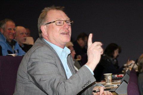 Arnt Frode Jensen, ordfører i Herøy, sier nei til gjenvalg.