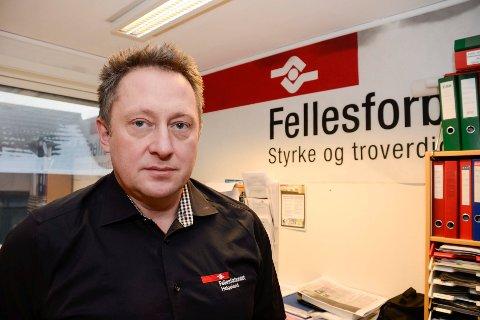 Leder for Fellesforbundet Helgeland, Tommy Rannov Nystad, advarer på sterkeste mot å bruke andre enn fagfolk.