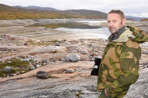 - For å gjøre muligheten for friluftsliv ved Kallvatnet bedre for oss hyttefolk og andre, ønsker vi en sommervannstand som hindrer ekstrem nedtapping, sier leder Øyvind Storvoll i Kallvatnet hytteeierforening.