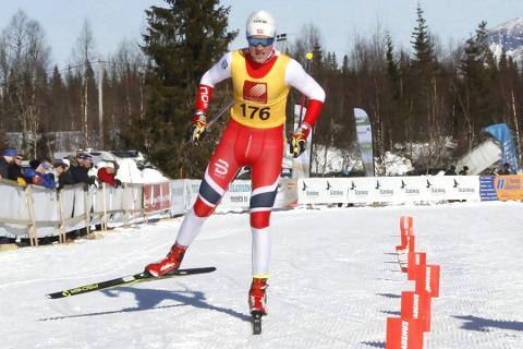 Under norgescupen på Konnerud utenfor Drammen slo Bossmo & Ytteren-løperen Preben Horven til med tidenes beste løp nasjonalt. - Jeg er veldig fornøyd med 5. plass. Nå drømmer jeg om pallen, sier han.