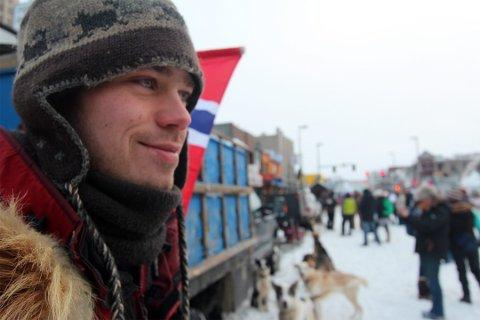 TØFT: Joar Leifseth Ulsom ble nr. 6 i hundeløpet Kuskokwin.