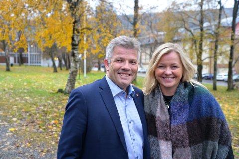 Nestleder i Ap, Bjørnar Skjæran, og partisekretær Kjersti Stenseng er på runde for å lytte til medlemmer. Det skal de bruke i prosessen fram mot neste valg i 2021.