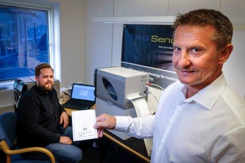 Knut Nygård og Tag Sensors har fått mye oppmerksomhet for sitt innovative produkt. Nå har de også fått Rana kommunes miljøvernpris.