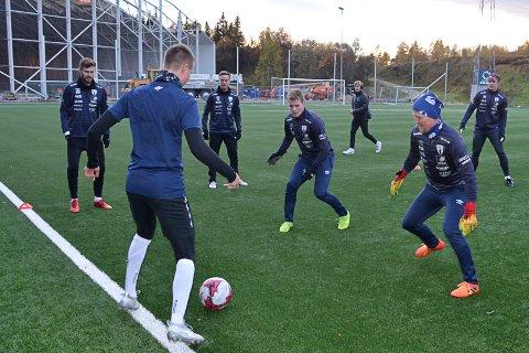 Rana FK avslutter kvaliken til 3. divisjon hjemme på Sagbakken stadion den 27. oktober kl. 13.00. Foto: Trond Isaksen