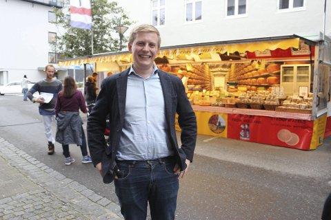 – Jeg vet at markedet er stort, sier Fredrik Nordøy. Arkivfoto fra Helgelendingen