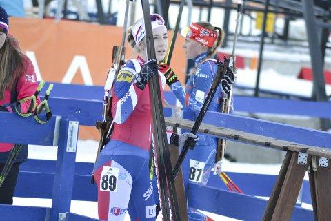 OPPTUR: Emilie Ågheim Kalkenberg gjorde en solid figur i verdenscupen i Canmore. Torsdag venter nytt verdenscuprenn, denne gangen i Salt Lake City i USA. Foto: Øyvind Bratt