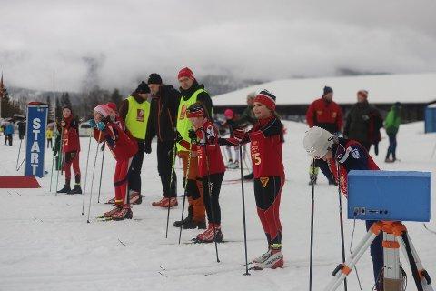 KM: Klart for start på Skillevollen lørdag. Mens det var langrenn sist helg, er det klart for NNM i skiskyting kommende helg.