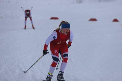 Oda Leiråmo ble nummer to i Hovedlandsrennet. Har fra KM i langrenn forrige helg.