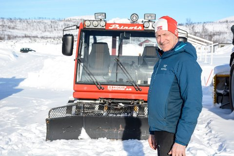 Thor Inge Kristensen, Umbukta fjellstue, tråkkemaskin