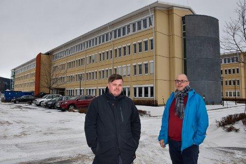 - Vi tror det blir veldig bra for byen at dette kompetansesenteret bygges. Det er ikke så mange bygg i Nord-Norge med 600 kompetansearbeidsplasser i, sier Freddy Olsen og Steinar Olsen fra HHO Gruppen.