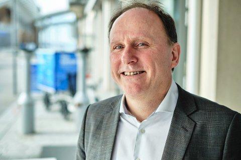 Reidar Ryssdal er engasjert i mange sentrale samfunnsprosjekter i Rana. Her avbildet i forkant av leverandørkonferansen i Oslo.