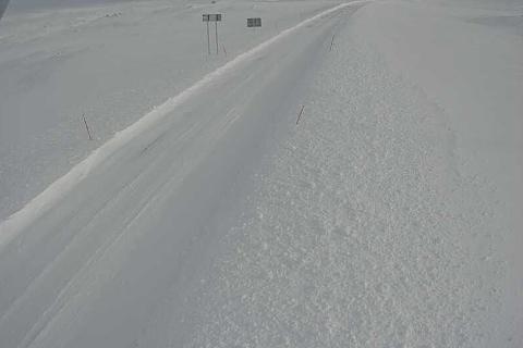 Så fort hele veien over Saltfjellet er brøytet opp, vil den bli åpnet for fri ferdsel.
