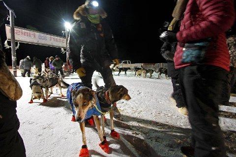 GODT I GANG: Joar Leifseth Ulsom er på 2. plass etter nattens kjøring. Det er tydelig at ranværingen ønsker å kjempe i toppen også i år.
