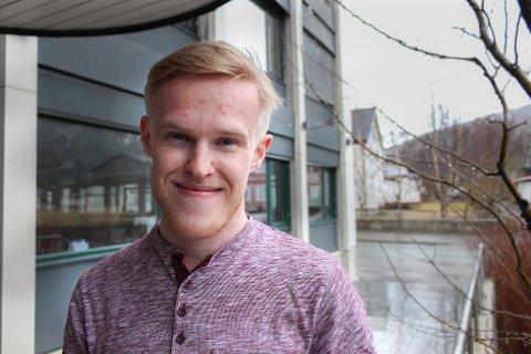 Fredrik Sandhei studerer droner i Tromsø, og fullfører i vår sin bachelorgrad innen droneteknologi.