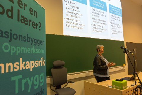 Rektor Hanne Solheim Hansen har foreslått å legge ned studiested Nesna. Brevskriveren minner Nord universitet om at det ikke er noen skam å snu.