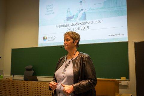 Konstituert rektor Hanne Solheim Hansen er en av to som har forfattet dette tilsvaret.