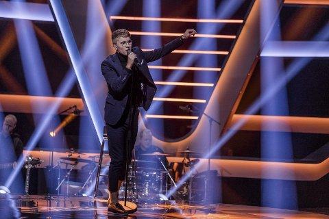 Satser: Kristoffer Edvartsen har kommet langt i The Voice, og uansett hvordan det går i konkurransen skal han satse på musikken. foto: Robert Dreier Holand
