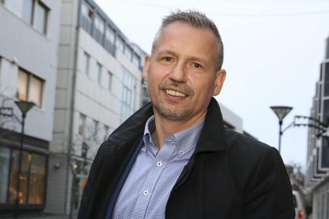 Ordfører i Alstahaug, Bård Anders Langø, har skrevet det åpne brevet til styret i Helgelandssykehuset sammen med administrasjonssjef Børge Toft. Foto: Jill-Mari Erichsen