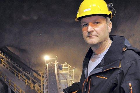 Administrerende direktør i Rana Gruber, Gunnar Moe, satser på børsnotering, men vil fortsatt ha sterk nordnorsk forankring gjennom LNS Mining som hovedeier.