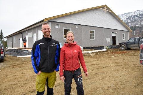 Fagerjord gård. Gunnhild Fagerjord og Eirik Langfors