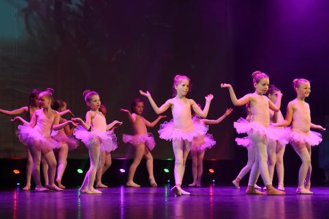 Vårforestillingen til Kraft dansestudio var en nytelse å se på.