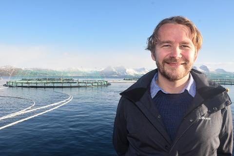 - Vi opplever en suksess med bruk av algeolje i vårt lakseför. Vi bruker sannsynligvis verdens mest bærekraftige fôr til å produsere laks med, sier daglig leder Alf-Gøran Knutsen i Kvarøy Fiskeoppdrett.