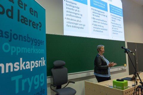 I rektor Hanne Solheim Hansen sitt forslag til nytt studiestedsstruktur er dårlige søkertall til Nesna trukket fram som en av studiestedets utfordringer.
