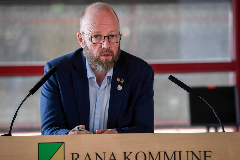 Ordfører Geir Waage (Ap) i Rana kommune.