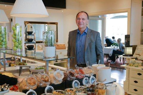 Hotelsjef Ove Bromseth ved Scandic Meyergården ser fram til opplevelseskonferanse i oktober.
