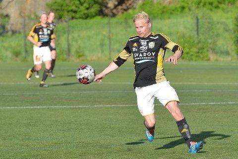 Torkil Steinan var en av dem som fikk nettkjenning i målfesten for Lurøy FK mot Sømna IL.