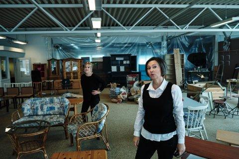 Daglig leder Grete Lian ved Askeladden Ressurssenter, som ble kåret til årets bedrift under Gallaria.