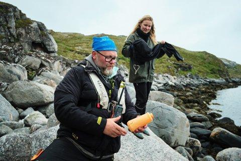 Rolf-Ørjan Høgset samler på ketchupflasker. Det var en slik flaske, med hans eget motiv, som gjorde at han valgte å legge om livet for tre år siden.