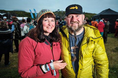 Trænafestivalen 2019 fredag. Lise Bårdsen og Espen Johansen fra Mo i Rana