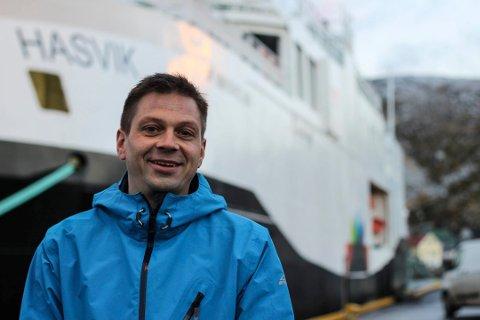 Steinar Mathisen fra Boreal beklager mangelen på informasjon for passasjerene som var om bord, men sier mannskapet var opptatt med å få ferga til kai.