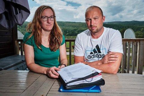 Helene Hansen og Roy Aastrøm har i flere år kjempet for å beholde hytta de satte opp uten godkjenning i 2010.