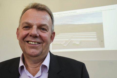 Torstein Dale Sjøtveit, styreleder i Freyr, svarer Naturvernforbundet.