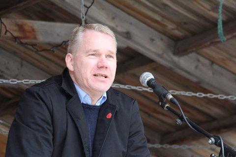 Christian Torseth, 1. mai Mosjøen torg